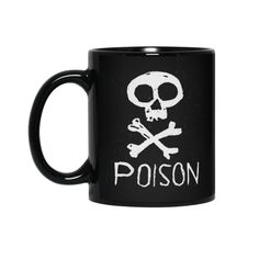 Poison Skull Accessories Mug by Picturenick