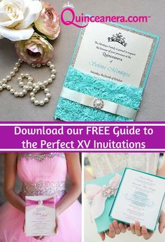 Planning Guide | Quinceanera invitations | blue invitation | vintage invitations | Party planning tips