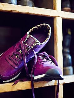 purple New Balance sneakers  http://rstyle.me/n/wiy52pdpe