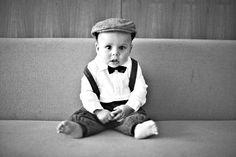baby + bow tie