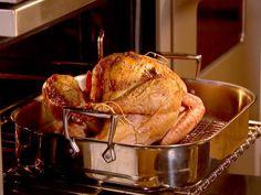 Roast Turkey with Truffle Butter Recipe : Ina Garten : Food Network Thanksgiving Turkey, Thanksgiving Recipes, Holiday Recipes, Holiday Meals, Holiday Dinner, Family Recipes, Christmas Recipes, Christmas Traditions, Holiday Fun