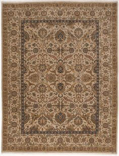 """Indo-Persian Hand-Knotted Rug - 9'2"""" x 12' on Chairish.com"""