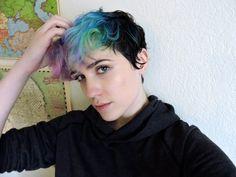rainbow short hair | rainbow short hair | My Style (With