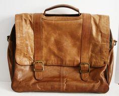Vintage Distressed Leather - $60.00, via Etsy.