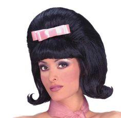 One Size Rubies Costume Dreamgirls Leader Adult Wig Black