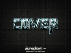 GraphicRiders | Sci-fi style – Cover (free photoshop layer style, text effect) #graphicriders