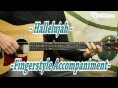 Hallelujah - Fingerstyle Guitar Lesson - YouTube