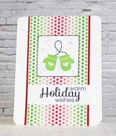 Round Here: Simon Says Stamp December 2013 Card Kit Reveal & Giveaway!