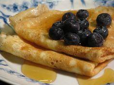 Gluten- og laktosefrie dessertpandekager
