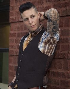 Butch/androgynous/BOI/queer/dapper/rockabilly   Model: Mack Dihle  Chicago IL www.mackdihle.com  Photographer: Dilyana Kanterava