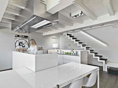 A loft with view the lake on Behance