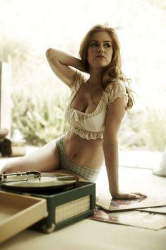 Isla Fisher.