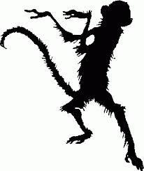 monkey silhouette的圖片搜尋結果