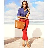 Lauren Jeans Co. Plus Size Jeans, Slimming Modern Straight-Leg Colored