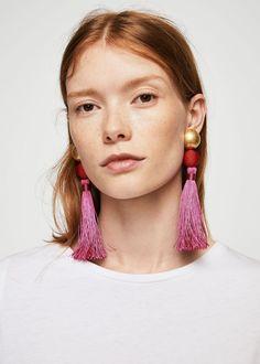 Tassel Earrings Statement Jewelry - BaubleBar, Zara