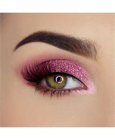 Pretty rich diamond light eyeshadow palette -makeup -inspiration -pink shadow -sparkly- eyeshadow -palette -shop now This is an affiliate link which means I may make a commission if you make a purchase through this link. Pink Eye Makeup, Makeup Eye Looks, Eye Makeup Art, Beautiful Eye Makeup, Colorful Eye Makeup, Cute Makeup, Pretty Makeup, Makeup Inspo, Eyeshadow Makeup