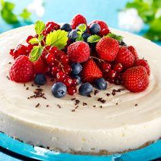 Kaurainen juustokakku 2 Cake Decorating, Cheesecake, Yummy Food, Fruit, Desserts, Decoration, Tailgate Desserts, Decor, Deserts