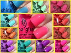 China Glaze Summer 2013 Sunsational Collection