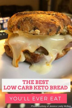 The BEST Low Carb Keto Bread You Will Ever Eat #lowcarb #keto #ketobread #lowcarbbread #loseweightfastandeasy