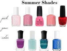 Top Summer Nail Polish Shades! Beauty Nails, Hair Beauty, Summer Nail Polish, Summer Shades, Love Nails, Summer Tops, Hair And Nails, Nail Colors, Manicure