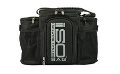 Isolator Fitness 2nd Gen Isobag 3 Meal Management System / Silver Logo/Black / Insulated Lunch Box / Insulated Lunch Bag  http://www.babystoreshop.com/isolator-fitness-2nd-gen-isobag-3-meal-management-system-silver-logoblack-insulated-lunch-box-insulated-lunch-bag/