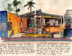 Puerto Ayora by Ken Foster