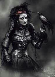 Demon dark womam