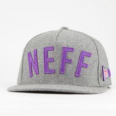 NEFF Felty Mens Snapback Hat Snapback Hats 0f525c2e1f69