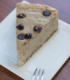 Ultra creamy cheesecake MELTS in your mouth... The texture is amazing!!! - from @choccoveredkt: http://chocolatecoveredkatie.com/2013/04/11/secretly-healthy-cappuccino-cloud-cheesecake/