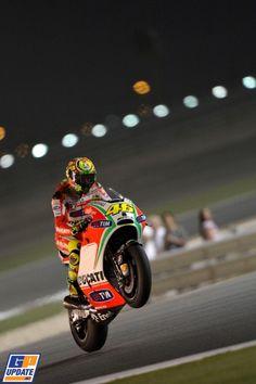 Rossi, Ducati Team, 2012 Qatar MotoGP Grand Prix, MotoGP