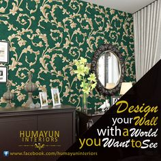 Design your wall with a world you want to see   Product: Wallpaper http://www.humayuninteriors.com/wallpapers/ Call us +021-34964523 , 34821297 , 34991085 Shop no: CA-5,6,7 hassan center, University Road Gulshan-e-Iqbal Karachi Pakistan  #Banquets_carpets #Commercial_carpets #Office_carpets #Berber_carpets #Loop_carpets #Highpile_carpets #Masjid_carpets #Contemporary_rugs #Area_rugs #Centerpieces #Abstract_modern_rugs #Marquee #Shadihallmarquee #Vinyl #Woodenfloorng #Jaeynamaz…