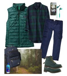 """""""GALENTINES Day ; Going on a Hike"""" by im-karla-with-a-k ❤ liked on Polyvore featuring Patagonia, Madewell, River Island, Casetify, Dr. Martens, Skullcandy, Everest, women's clothing, women and female"""