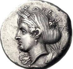 Silver Tetradrachm of Kyzikos (Mysia), 390-341/0 BC. Kore Soteira