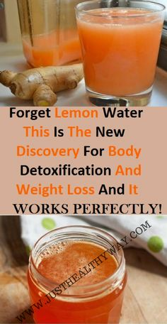Lemon Water: This Is The New Discovery For Body Detoxification And Weight Loss And It . Forget Lemon Water: This Is The New Discovery For Body Detoxification And Weight Loss And It Works Perfectly!, Forget Lemon Water: This Is The New Discovery . Weight Loss Detox, Weight Loss Drinks, Water For Weight Loss, Detox Water To Lose Weight, Healthy Detox, Healthy Drinks, Diet Detox, Detox Diets, Cleanse Diet