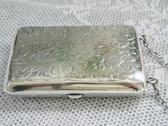 Victorian Dance Purse Sterling Silver by GrandVintageFinery, $195.00