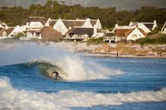 2014 ended with a bang in Cape Town when a massive summer swell stoked out locals on Boxing Day. Judging by this photo of Nick Grondman at Crons yesterday, 2015 hasn't started too badly either. - Photo by: Daniel Grebe Surf City, Surfs Up, Long Beach, Cape Town, Zig Zag, Cool Places To Visit, South Africa, The Good Place, Surfing
