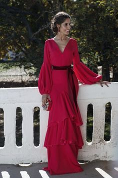 Unique Fashion, Dresses With Sleeves, Long Sleeve, Pattern, Vintage, Style, Goodies, Outfit, Ruffled Dresses