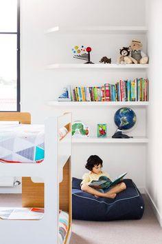 Kids' room with bunk beds. | Photo: Martina Gemmola | Styling: Toni Briggs | Story: Australian House & Garden