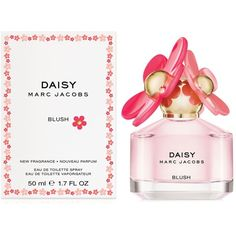 Daisy Marc Jacobs Blush Eau de Toilette, 1.7 oz ($78) ❤ liked on Polyvore featuring beauty products, fragrance, no color, edt perfume, marc jacobs, marc jacobs perfume, marc jacobs fragrance and eau de toilette perfume