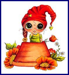 my besties clear stamps hatter Besties, Cartoon Drawings, Art Drawings, Clip Art, Digi Stamps, Cute Little Girls, Colorful Drawings, Art Portfolio, Big Eyes