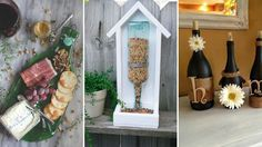 Creative DIY Crafts From Wine Bottles