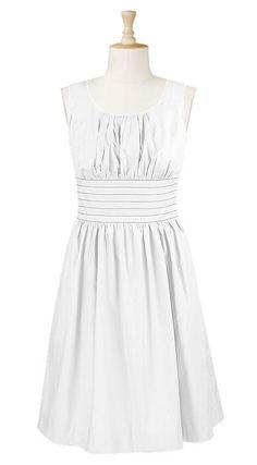 eShakti, Dresses, White Dress