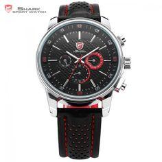 253f768b267c Pacific Angel SHARK Sport Watch Racing Series Model SH094 Men Quartz Wrist  Watches   Price