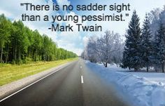Mark Twain Quote on Pessimism. There are 9 Thought Patterns That Can Wreak Havoc on Your Life. Find out what they are!