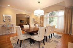 You have the perfect dining room - now just add good friends and good food!
