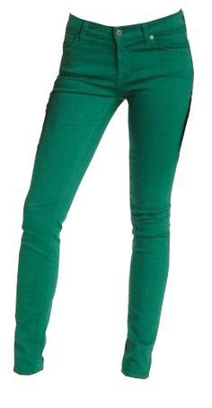 Emerald Green Jeans