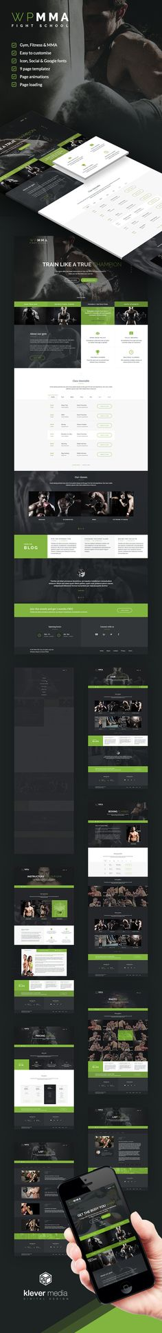 WP MMA HTML Template