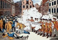 Sons of Liberty information {Boston Massacre engraving printed by Paul Revere}