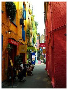 #Neals Yard  #london  Love this street.
