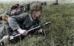 Maschinengewehrschütze - MG.34